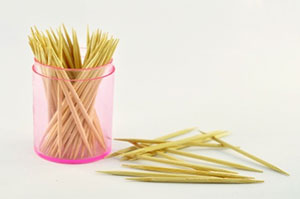 are toothpicks good for your teeth